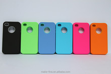 afforable and hot selling 2in1 rubber phone case for iphone