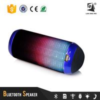 colorful portable mobile promotional speaker with 1800mAh rechargable battery