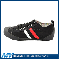 2014 Hot sales new fashion men's canvas casual shoe