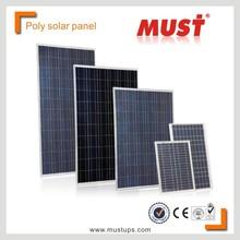 MUST Cheap solar panel factory 100W 150W 200W 250W 300W Polycrystalline solar panel price