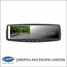 "High brightness 4.3"" car mirror monitor 4.3"" rear view mirror car monitor, 4.3"" universal car mirror, clip on type"