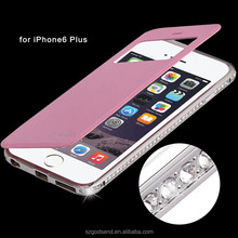 Professional manufacturer Luxury Diamond Metal Bumper Case for iPhone 6 plus