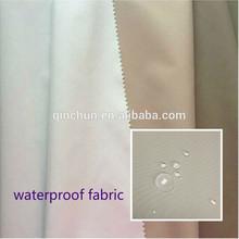 Tela micro llano impermeable y transparencia revestimiento