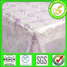 nuevos productos 2014 rollo populares mantel de plástico pvc transparente tela de mesa para boda