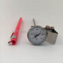 High Quality 1 inch Instant read bimetal coffee milk cooking thermometer-20-40C