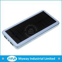 Hot selling fashion design waterproof solar power bank ,portable solar charger,waterproof portable solar charger power bank