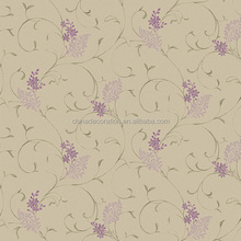 Entangled floral branch pattern wallpaper in china