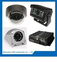 KXD-HOT!!!Lowest Price!Mobile Intelligent Monitoring - Basic 4CH Hard-disk Mobile DVR<KXD-KD4-GWW-E> Car DVR