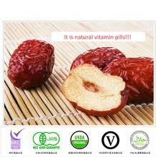 Dátiles asadps Chinos secos -- La mejor especie y sabor en fruta seca China