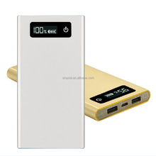 new product 2016 Qualcomm quick charge QC 2.0 8000mAh ultra slim Li-Polymer portable power bank for mobile phone tablet pc