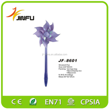 2015 new design clockwork windmill ballpoint pen for sale