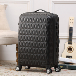 New Desigh PC Zipper Luggage Popular Trolley Luggage