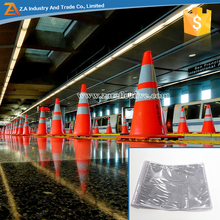 PVC micro prismatic printable reflective sleeve for traffic cone