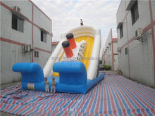 water slide game , ZY-WS1075 basketball ring water slide