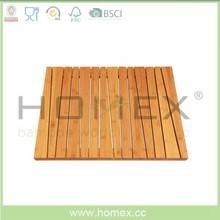 Bamboo Shower Mat/Anti-Slip Bath Mat/Homex_FSC/BSCI