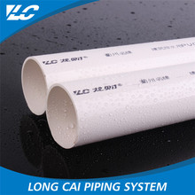 Low flow resistance lower water pipes