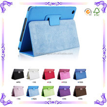 Fashion tablet leather case for ipad 4 Sleep and auto for ipad 4 case