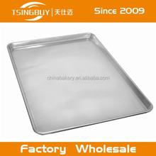 Folha de alumínio pan/assadeira na grelha/assadeira no fogão