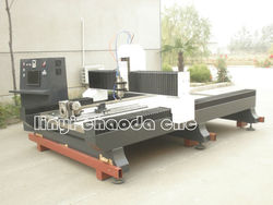 Cylinder stone faceting CNC machinery
