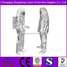 Factory direct supply 2015 New Product Aluminized anti fire safety clothing