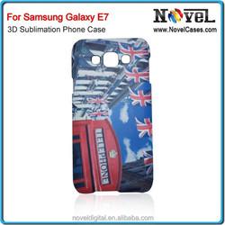 3D Sublimation DIY Blank Phone Case for Samsung Galaxy E7