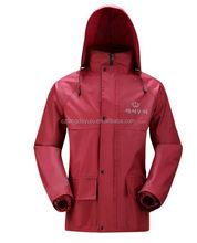 factory price polyester pongee waterproof raincoat,rainwear,rain coat,rainsuit