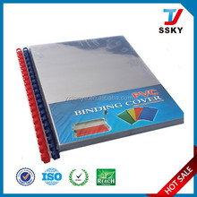 New low price hard plastic book cover factory