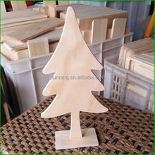 Wood Hand Made Craft Christmas Tree Toy Tree