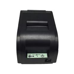 76mm cashdrawer auto cutter printer pos dot matrix printer pin pad wireless pos terminal