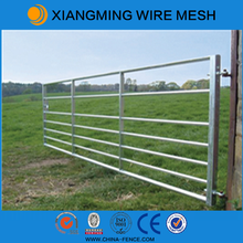 High quality galvanized metal farm gates
