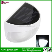 Company Direct Sales 6LED Solar Fence Lights for Garden Decoration