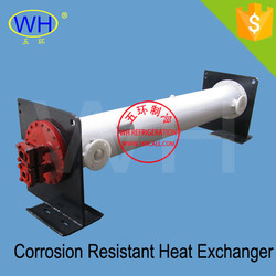 Made in china 20HP corrosion resistant heat exchanger, marine heat exchanger