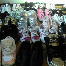 Japan assortments secondhand shoes from Japan