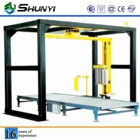Fast delivery cheap and commercial bottle box film packing machine