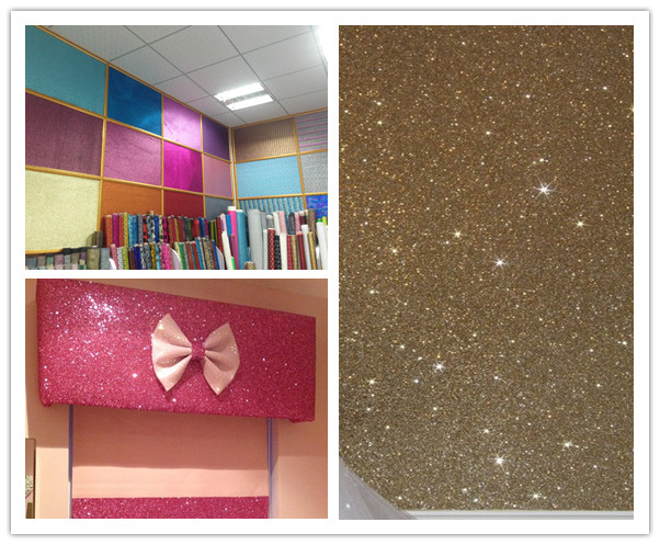 Wholesale glitter wallpaper glitter wholesale cosmetic for Cheap glitter wallpaper