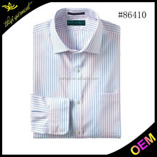 2015 venda quente dos homens camisas com gola dupla com design uniqe