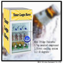85 litres National Minibar refrigerator/ small cooler/ cooler display fridge
