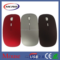 2015 Hot wholesale 2.4G novelty wireless Thin Mouse with DPI