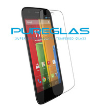Pureglas brand tempered glass for MOTO G2 mobile phone, glass protector for MOTO G2