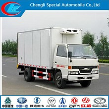 2015 new condition2000kgs jmc refrigerated van and truck good quality refrigerated cargo boxJMC freezer vehicle of 2 ton on sale
