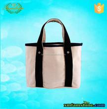 customized canvas natural men tote bag