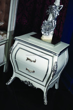 YJ-A2002 night stands bedside cabinet antique gold night stand