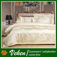 60S*40S 300TC Jacquard 100% Bamboo Bed Sheet Hand Work