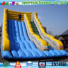 35ft high UK hot sale adult super inflatable slide mega commercial grade