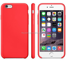 Silicone phone cover for iphone 6/6 plus factory in China