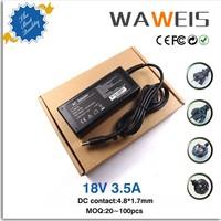 Adaptadores para laptop 18.5V 3.5A 65w laptop ac adapter for HP COMPAQ 610 615 Laptop