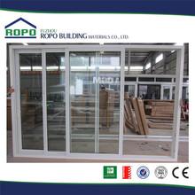 Economica ingresso porta in vetro esterno, porta scorrevole in vetro