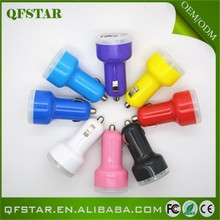 Universal hot sale colorful dual mobile phone adapter