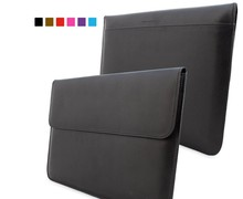 high quality leather sleeve case cover for macbook pro 13 15 inch