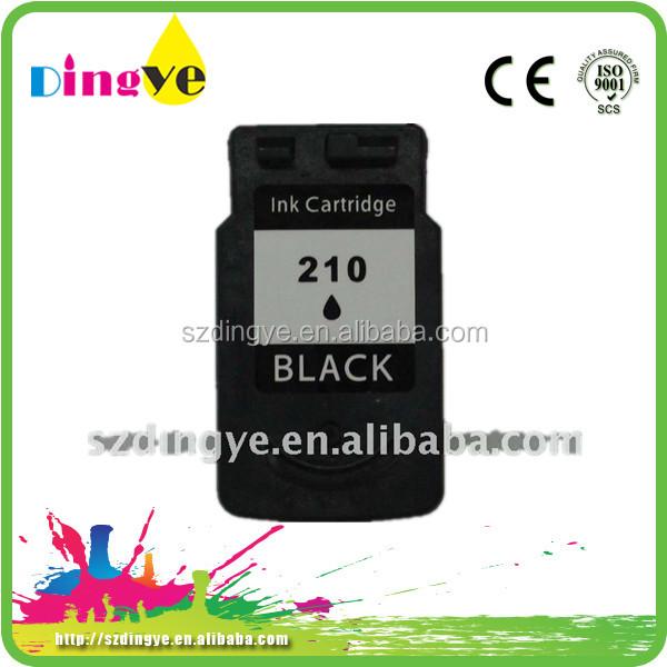 Nuevo modelo 210/211 cartucho de tinta para impresora canon